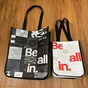 Lululemon x 2 Reusable Bags